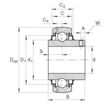 підшипник GY1104-206-KRR-B-AS2/V INA
